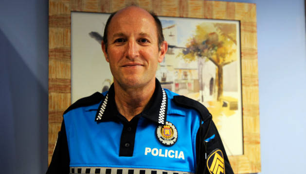 Javier Mª Pérez, nuevo jefe de Policía Municipal de Tafalla.