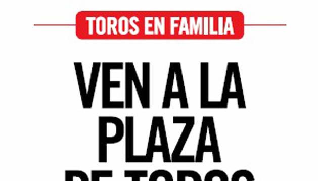 Las mañanas de San Fermín volverán a contar con 'Toros en Familia'