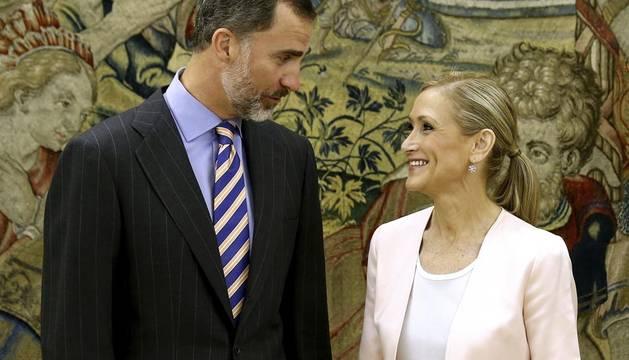 Felipe VI se pone al día con Madrid tras recibir a Cifuentes y Carmena