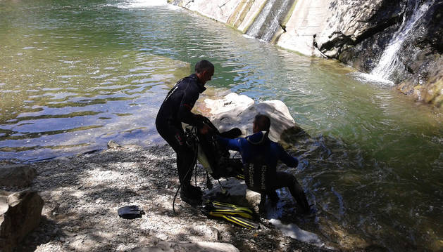 Fallece un hombre ahogado en el río Arga a su paso por Huarte