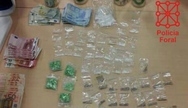 Dos detenidos en Oricáin y Elizondo por tráfico de drogas