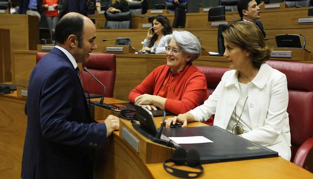 Goicoechea no participó en la votación del déficit para 2016