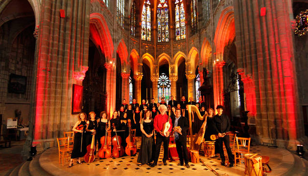 La Coral de Cámara de Pamplona vuelve de su gira europea