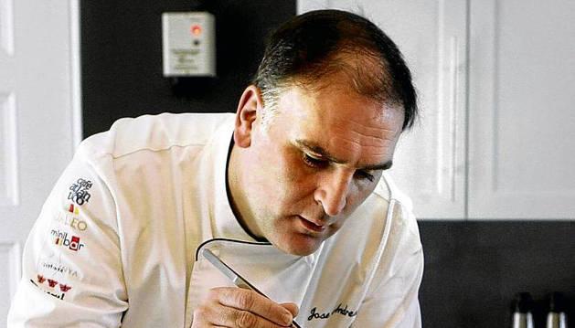 El cocinero español José Andrés.