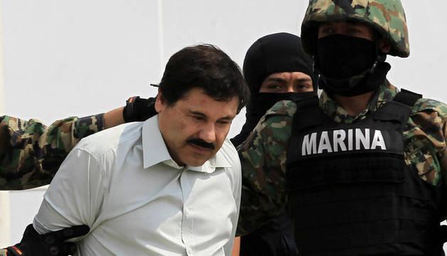 'El Chapo' Guzmán, en febrero.