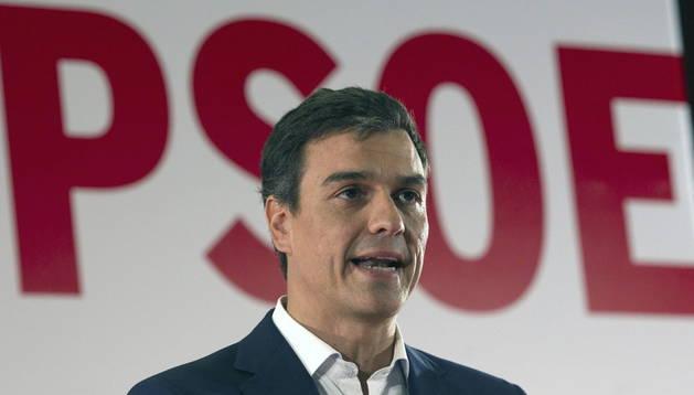 Pedro Sánchez, en la reunión del Consejo de Política Federal de los socialistas.