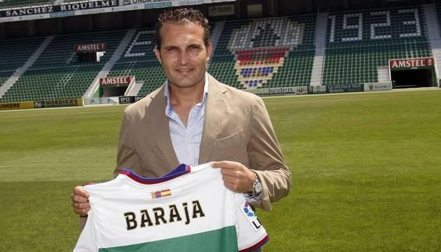 Rubén Baraja, nuevo técnico del Elche.