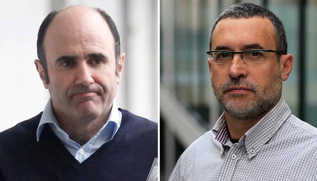 Manu Ayerdi y Miguel Laparra.