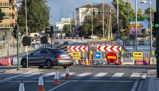 Abierto el desvío por el inicio de las obras en la Avenida de Zaragoza