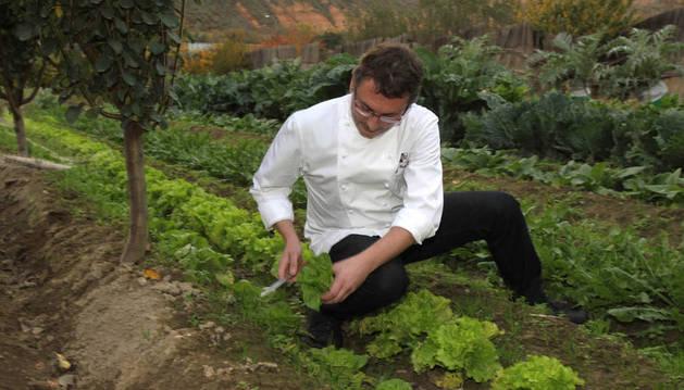 El cocinero vasco Andoni Luis Aduriz.