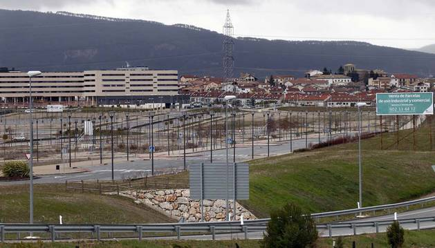La compraventa de viviendas cae un 54% durante la crisis en Navarra