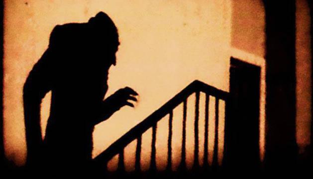 Fotograma de 'Nosferatu', de Murnau.