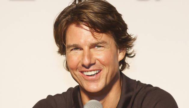 El actor estadounidense Tom Cruise, durante el estreno de 'Misión Imposible' en Seúl.