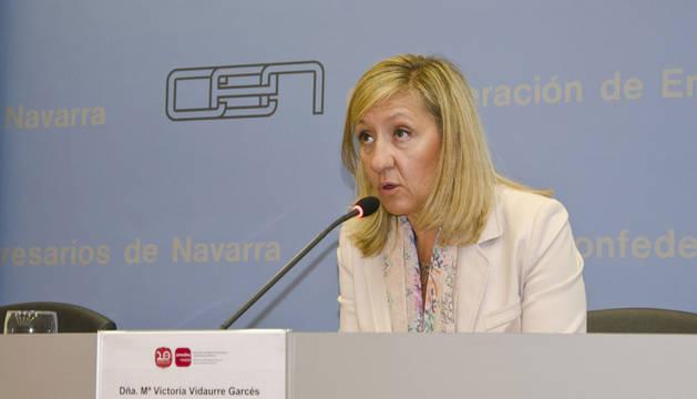 María Victoria Vidaurre, presidenta de Amedna
