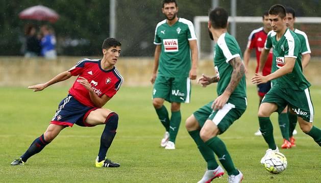El C.A. Osasuna y la S.D. Eibar disputaron un encuentro amistoso en el estadio San Miguel de Olite, preparatorio para la temporada 2015/2015. El conjunto rojillo se impuso por 1-0 con gol de José García.