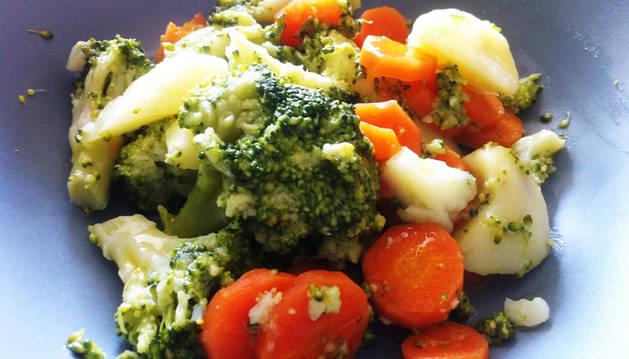 Brócoli, zanahoria y patata: un plato lleno de salud