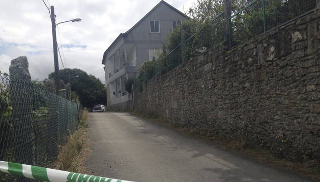 Aldea de O Casal, donde se produjo el crimen.
