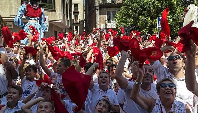 Fiestas en Estella - 2 de agosto