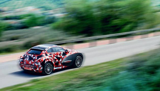 Vehículo que se fabricará en Linares por Velántur Cars.