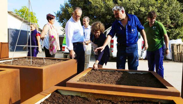 Instalaciones de la Escuela Taller de Empleo Parque de Aranzadi.