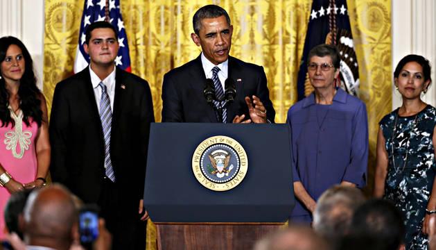 Obama ve en el  cambio climático una amenaza para EE UU