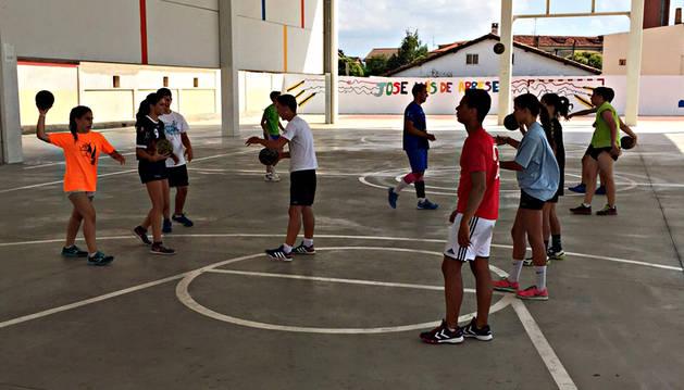 Imagen de uno de los entrenamientos del campus.