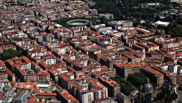 Las denuncias por robos en viviendas proceden de varios pisos del Ensanche pamplonés.
