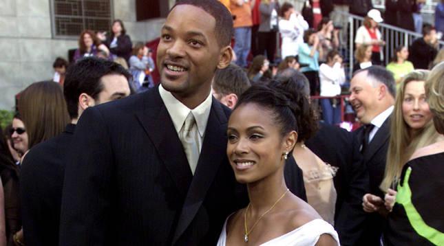 Will Smith y su mujer, Jada Pinkett.