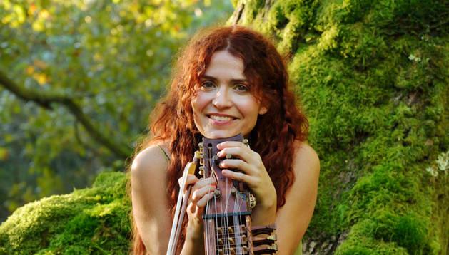 La cantante y compositora Ana Alcaide.
