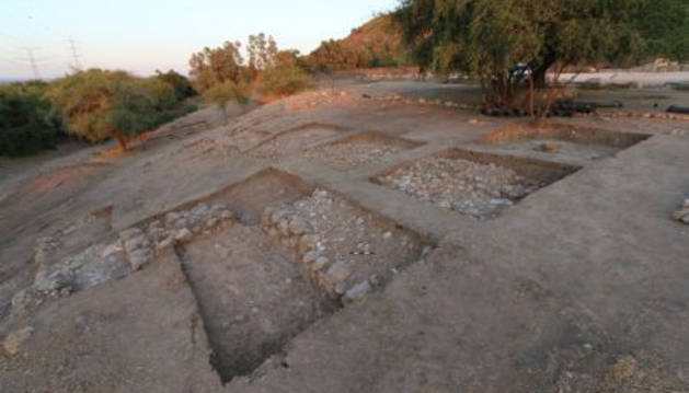 Lugar en el que se realizan las excavaciones.