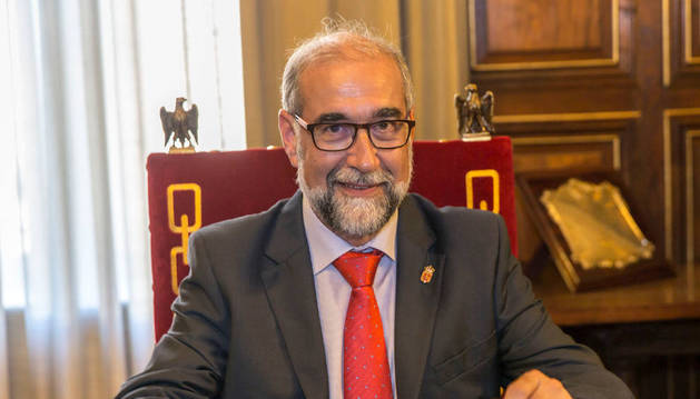 Fernando Domínguez Cunchillos, consejero de Salud del Gobierno de Navarra.