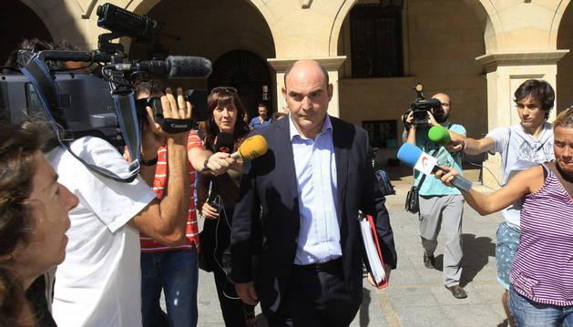 El alcalde de Alcañiz, Juan Carlos Gracia Suso.