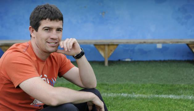 David Ruiz, técnico de la Peña Sport.