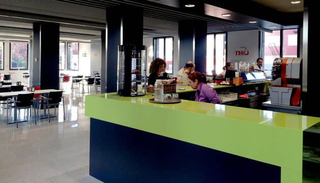 Nuevo espacio dedicado a cafetería.