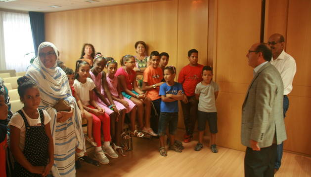 Imagen de la visita en la sede de la FNMC.