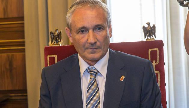 Mikel Aranburu, consejero de Hacienda del Gobierno de Navarra.