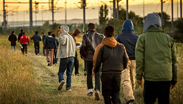 La ONU pide reubicar a los inmigrantes que acampan en Calais