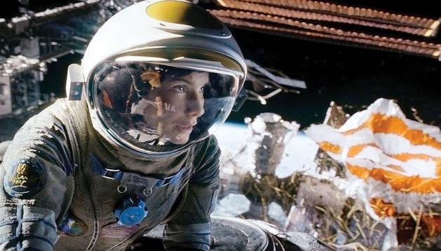 Fotograma de la película 'Gravity'.