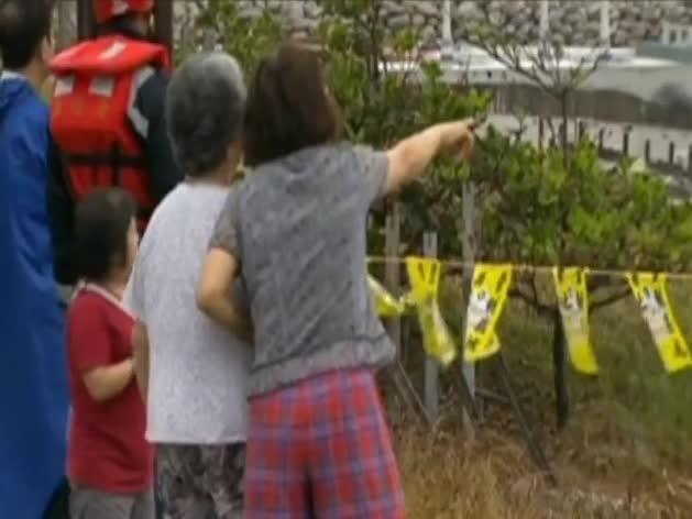 El 'Soudelor' toca tierra en Taiwán