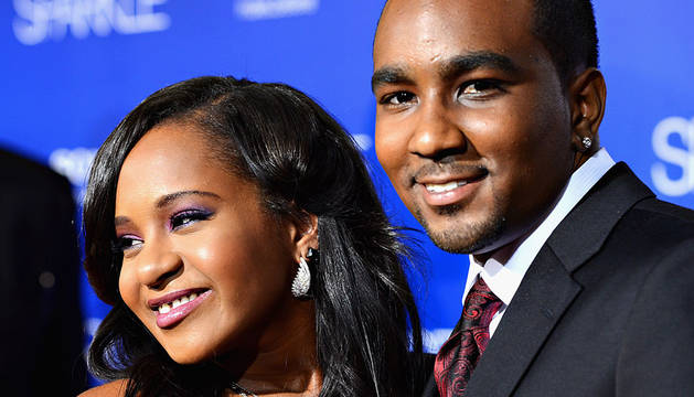 Bobbi Kristina Brown, junto a Nick Gordon.