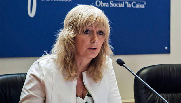 La consejera Ana Ollo.