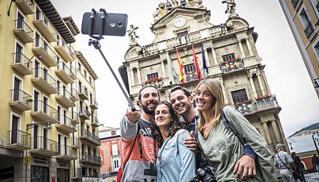 La ocupación hotelera de Pamplona y comarca ronda el 70% este agosto