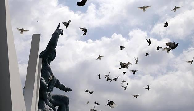 Miles de personas conmemoran el 70 aniversario de Nagasaki