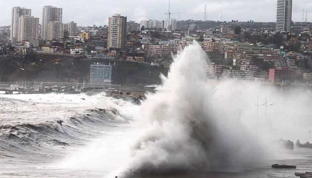 Temporal en Chile