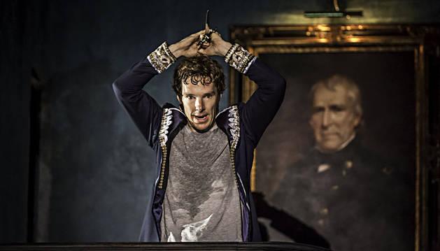 Cumberbatch pide que no le graben mientras es Hamlet