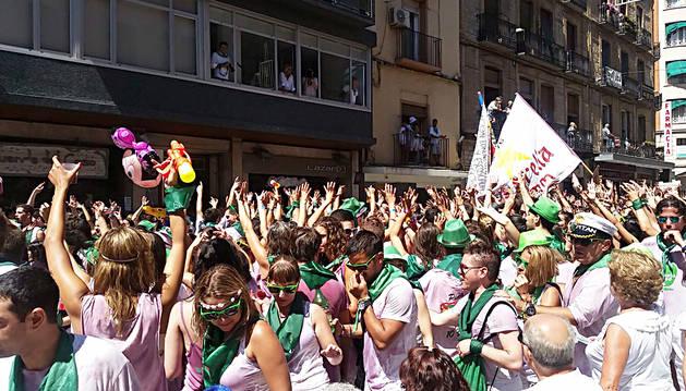 Huesca da inicio a siete días de fiestas patronales