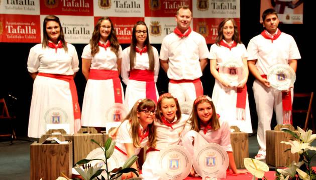 Ganadores del XXXVIX Certamen de Jotas de Tafalla.