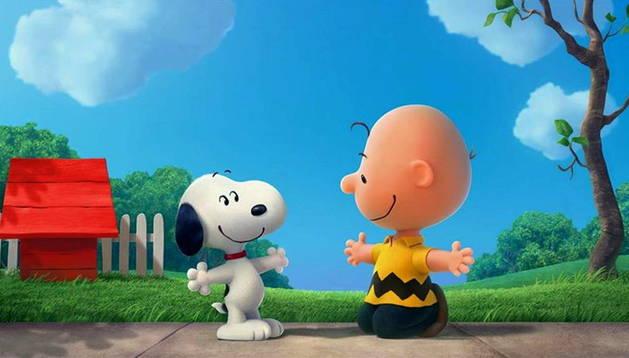 Una imagen de Snoopy.