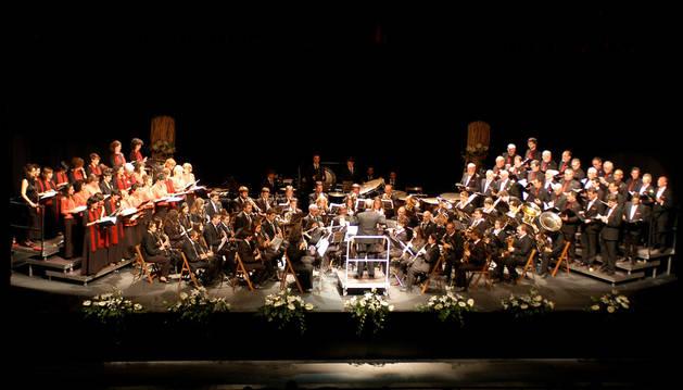 Concierto celebrado en el Centro Cultural de Tafalla.