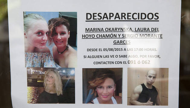 Cinco días sin Marina, Laura y Sergio,  una desaparición de